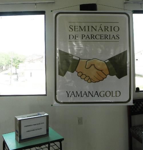 Resultado de imagem para seminário de parcerias yamana
