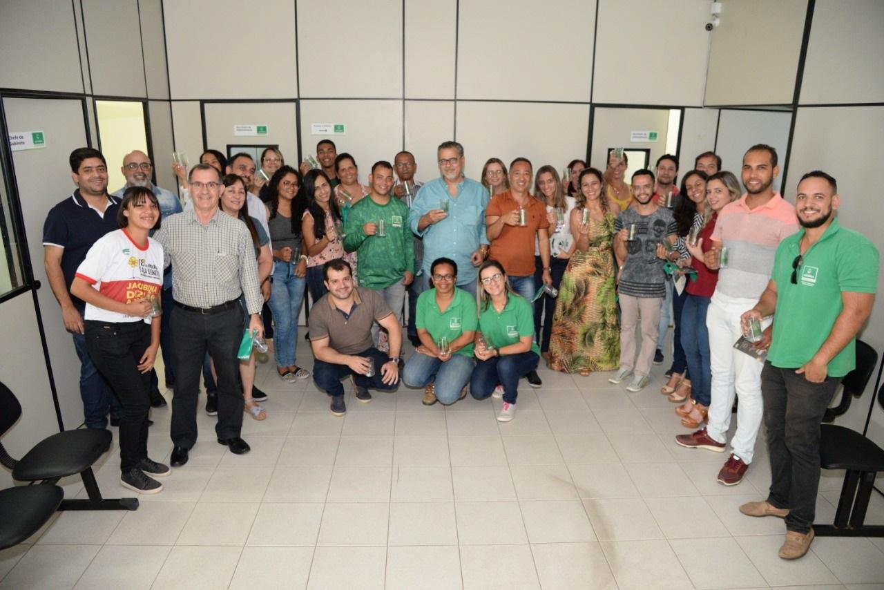 Prefeitura inicia projeto sustentável com servidores municipais