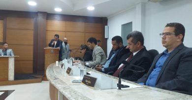 Em primeira votação, Câmara de Vereadores de Jacobina aprova contas de Rui Macedo