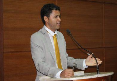 Vereador Martins homenageia os 40  anos do PT na Câmara de Jacobina