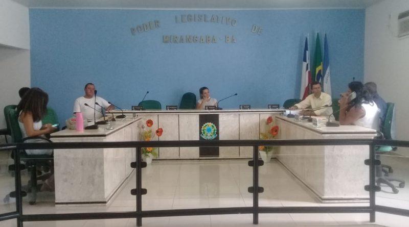 Câmara de Mirangaba se mobiliza na prevenção e combate ao coronavírus