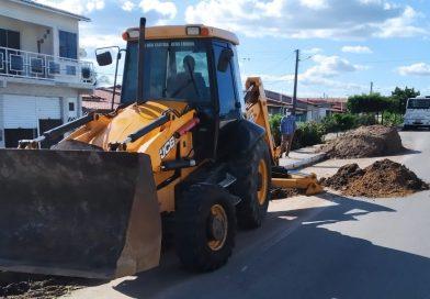 Prefeitura inicia revitalização da Avenida Deputado Rocha Pires no distrito do Junco