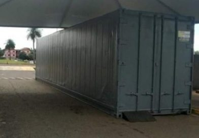 Governo aluga contêineres para armazenar corpos na Bahia; Jacobina é um dos municípios relacionados