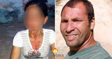 Caém: Homem agride mulher com socos e capacetadas no meio da rua