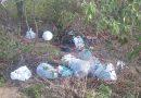 Morador denuncia descarte de lixo na Lagoa de Antônio Teixeira Sobrinho