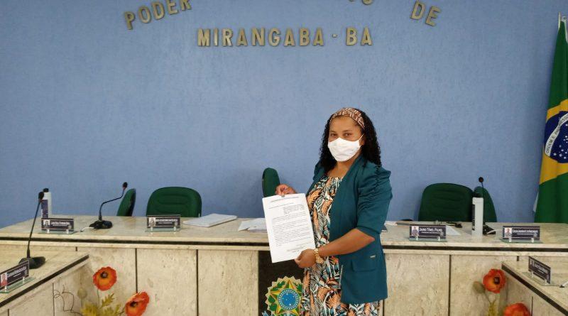 Vereadora Socorro propõe criação do Dia Municipal da Mulher Negra, Latino-Americana e Caribenha em Mirangaba