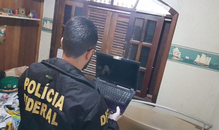PF prende suspeito de compartilhar conteúdo de exploração sexual infantil em Jacobina
